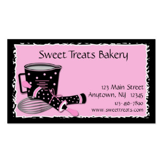 Baking Polka Dots Pack Of Standard Business Cards