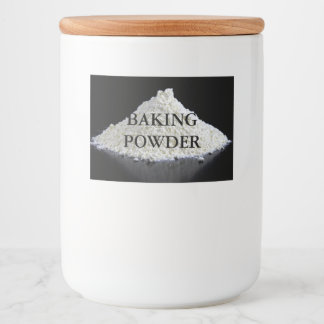 baking powder food label
