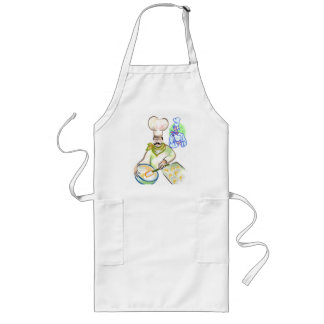 Baking up a tasty treat, apron