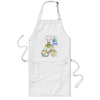 Baking up a tasty treat, apron
