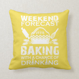 BAKING WEEKEND THROW PILLOW