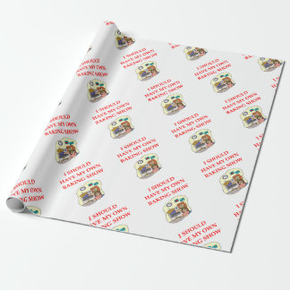 baking wrapping paper