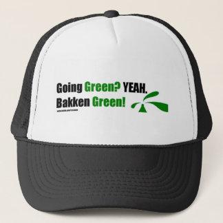 Bakken Green Cap