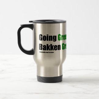 Bakken Green Travel Mug w/ website