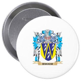 Bakker Coat of Arms Pins