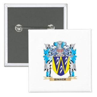 Bakker Coat of Arms Button