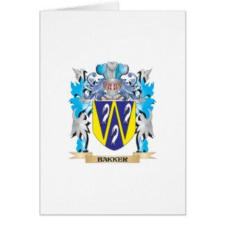 Bakker Coat of Arms Greeting Card