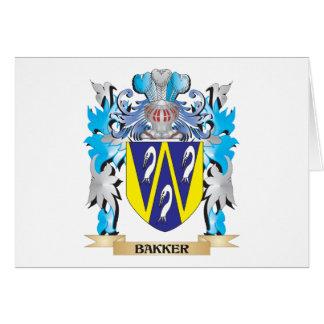 Bakker Coat of Arms Card