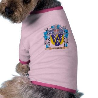 Bakker Coat of Arms Pet Shirt