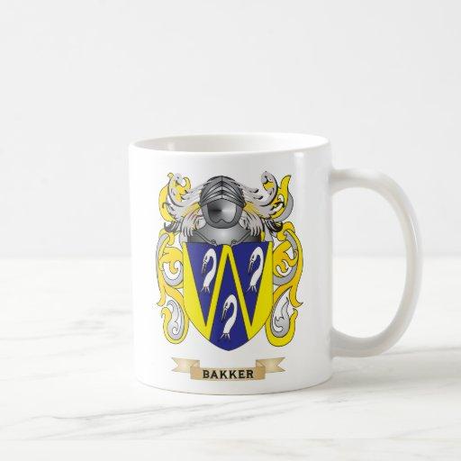 Bakker Coat of Arms (Family Crest) Coffee Mug