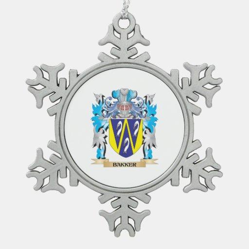 Bakker Coat of Arms Ornament