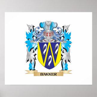 Bakker Coat of Arms Poster