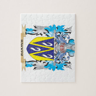 Bakker Coat of Arms Jigsaw Puzzles