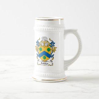 Bakker Family Crest 18 Oz Beer Stein