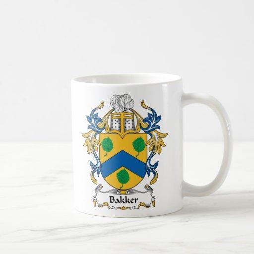 Bakker Family Crest Coffee Mug
