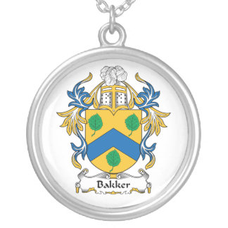 Bakker Family Crest Custom Necklace