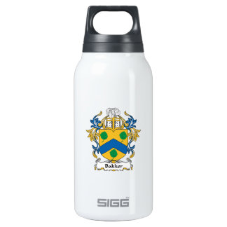 Bakker Family Crest 10 Oz Insulated SIGG Thermos Water Bottle