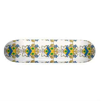 Bakker Family Crest Skate Board