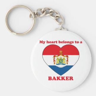 Bakker Key Chain