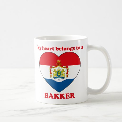 Bakker Coffee Mugs