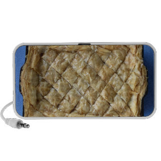Baklava a kind of pastry travel speakers