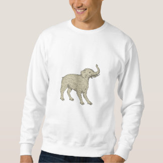Baku Side Drawing Sweatshirt