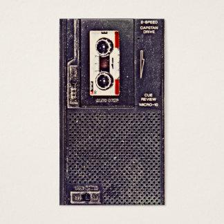 baladeur des années 80 cartes de visite