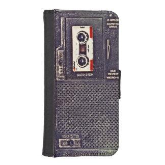 baladeur des années 80 coques avec portefeuille pour iPhone 5
