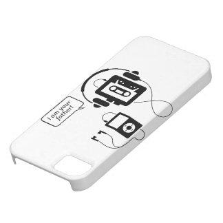 Baladeur drôle étuis iPhone 5