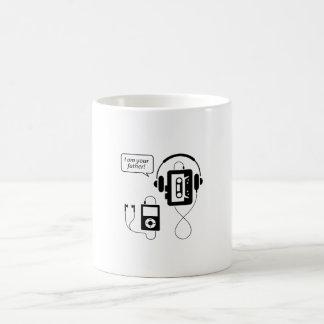 Baladeur drôle mug blanc