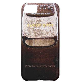 Baladeur vintage étuis iPhone 5C