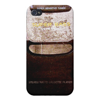 Baladeur vintage étui iPhone 4/4S