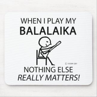 Balalaika Nothing Else Matters Mouse Pad
