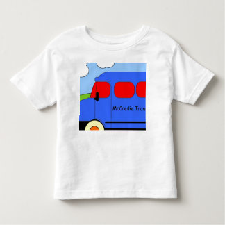 Balamory Bus Picture Toddler T-shirt