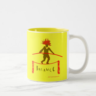 Balance...Balancing Two-Tone Coffee Mug