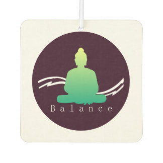 """Balance"" Beautiful Buddha. Air Freshener"