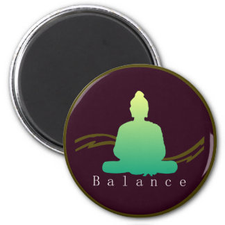 """Balance"" Beautiful Buddha Magnet. Magnet"