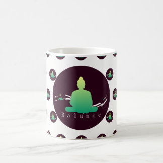 """Balance"" Beautiful Buddha mug. Coffee Mug"