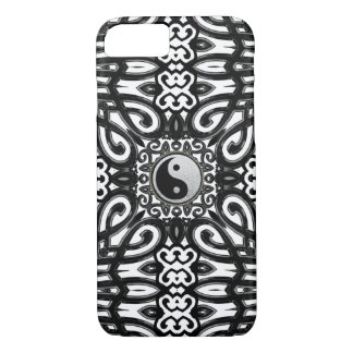 Balance Black White Yin Yang Decor iPhone 7 Case