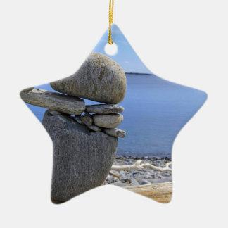 Balance Ceramic Star Ornament