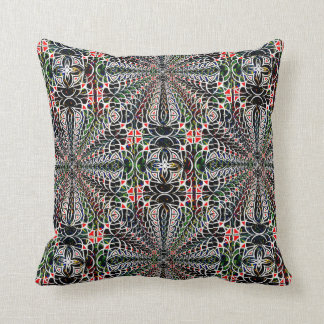 Balance Cubed Throw Pillow