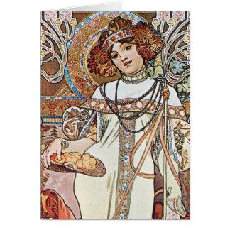 Balance Goddess Card