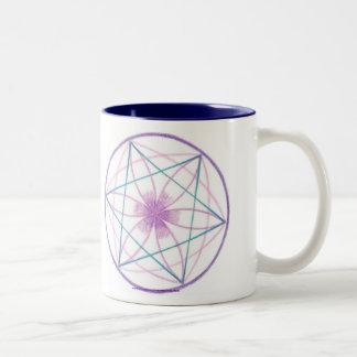 Balance Mandala Two-Tone Coffee Mug