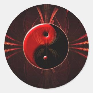 Balance of Fire Classic Round Sticker