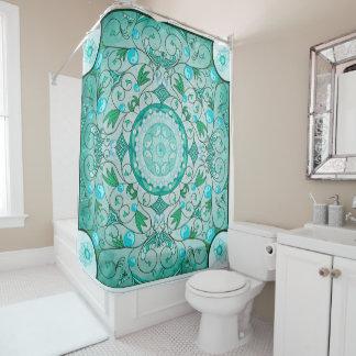 Balance of Nature Healing Mandala Shower Curtain