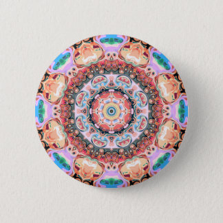 Balance of Pastel Shapes 2 Inch Round Button