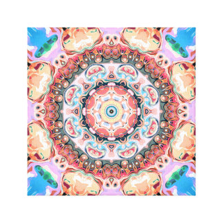 Balance of Pastel Shapes Canvas Print