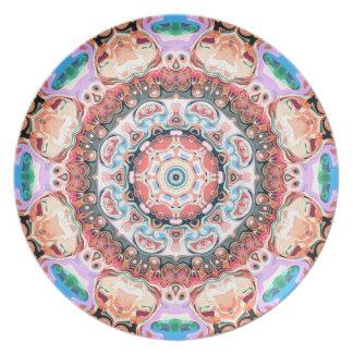 Balance of Pastel Shapes Plate