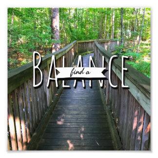 Balance. Photo Print
