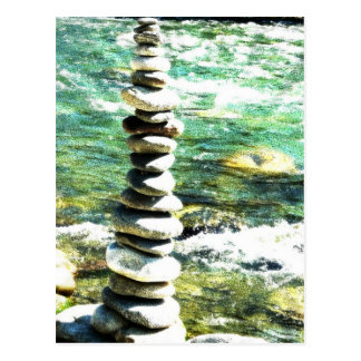Balance. Postcard
